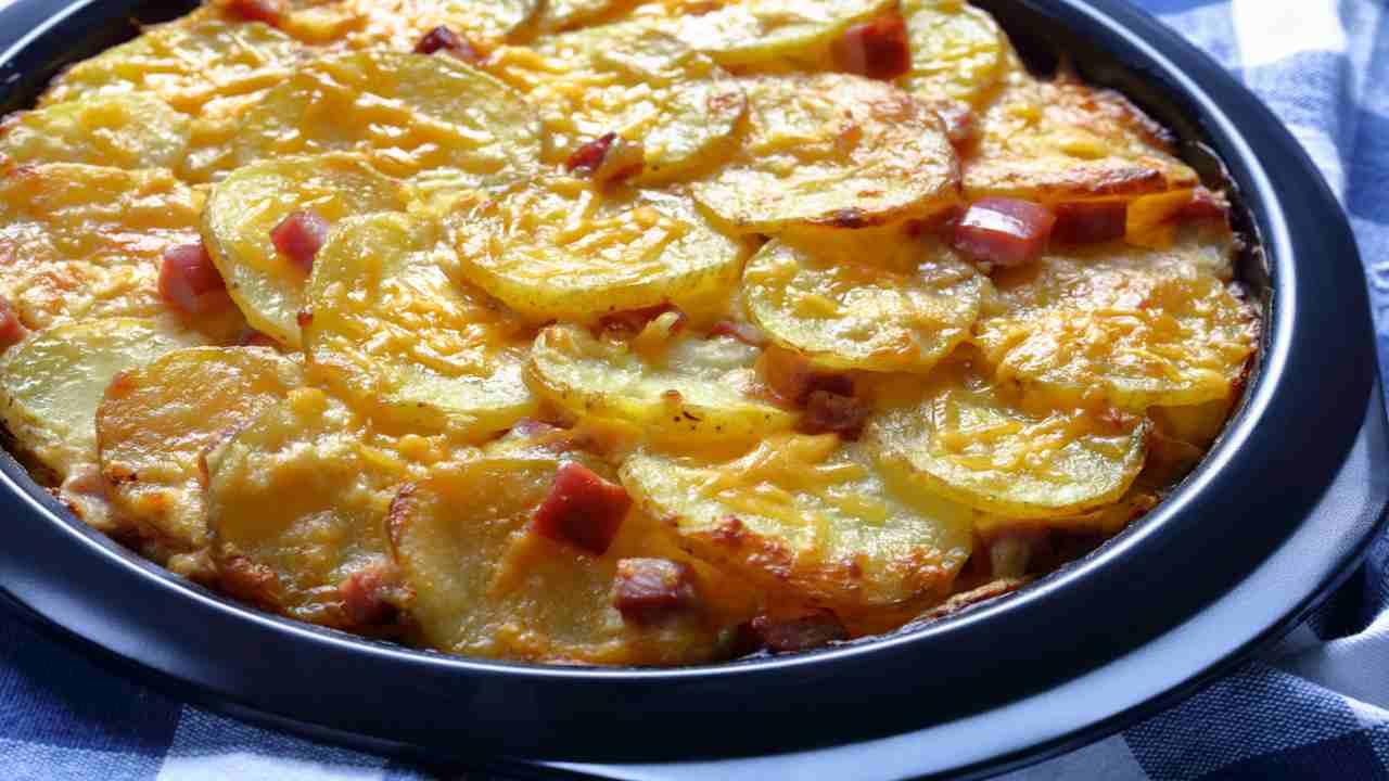 Patate alla Savoiarda con pancetta