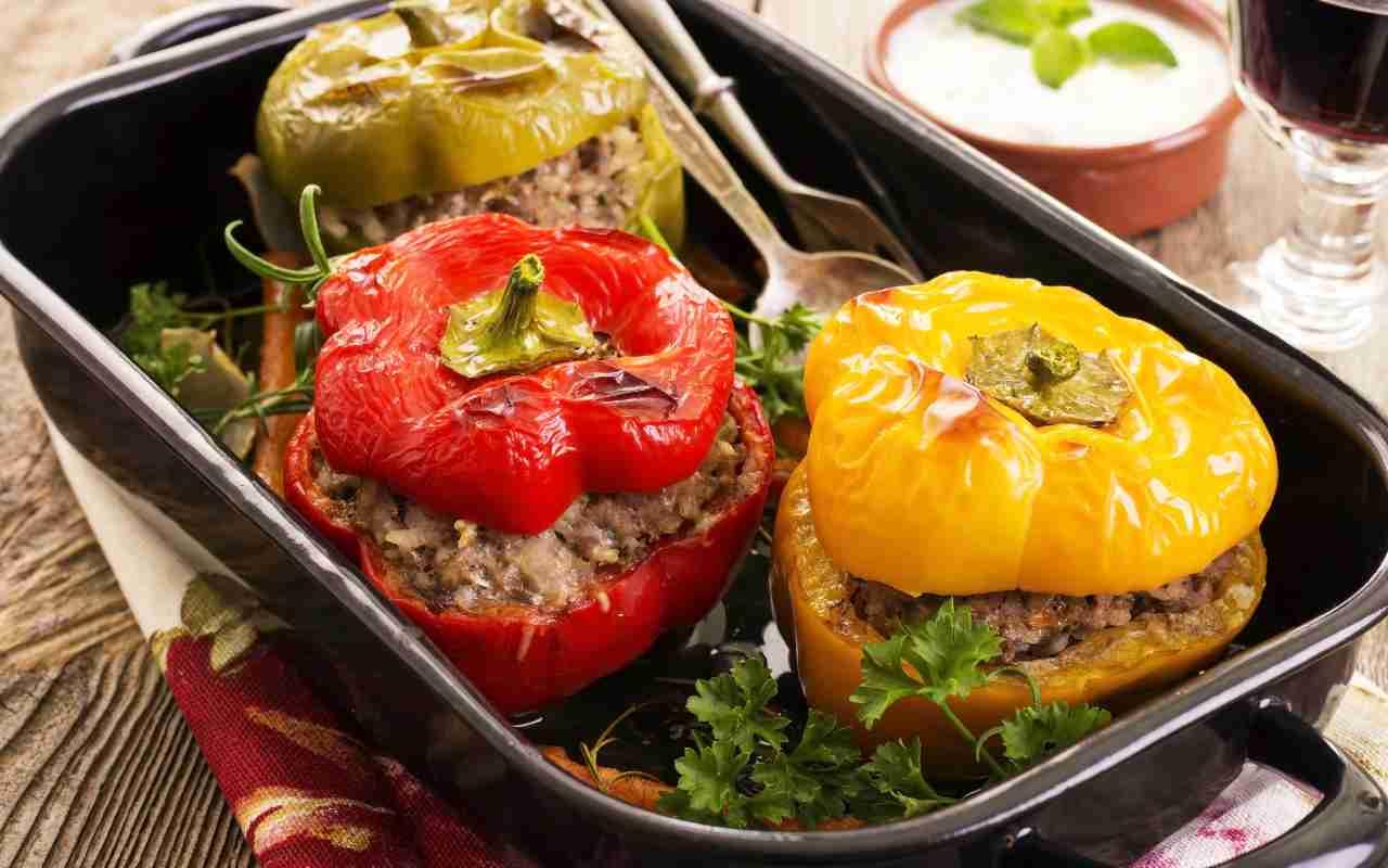 Peperoni ripieni alla calabrese FOTO ricettasprint