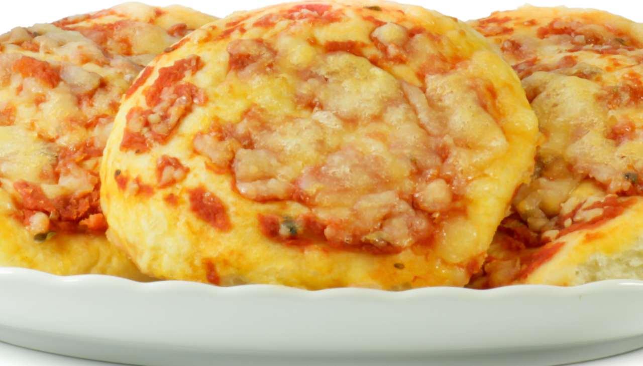 Mini pizze di patate - ricetta sprint