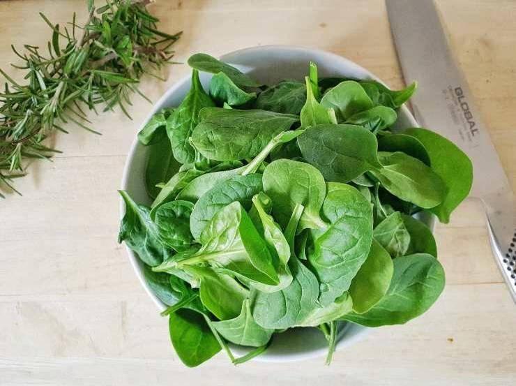 Polpette di purè e spinaci