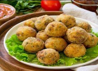 Polpette di zucchine e feta