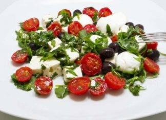 Pomodorini feta e olive - ricettasprint