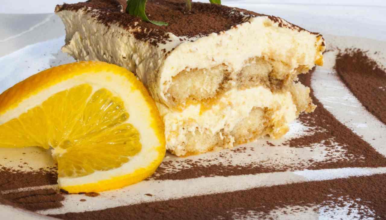 Tiramisù al mango e limone - ricettasprint