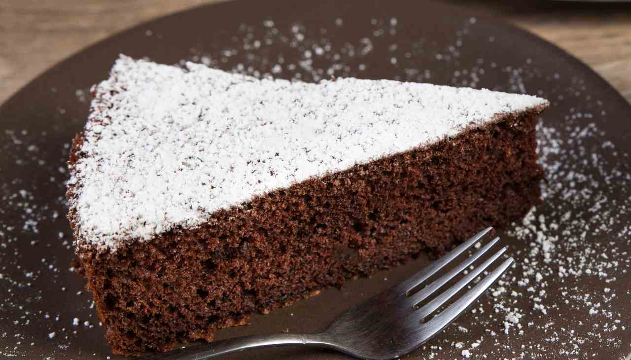 Torta acqua e cacao - ricettasprint