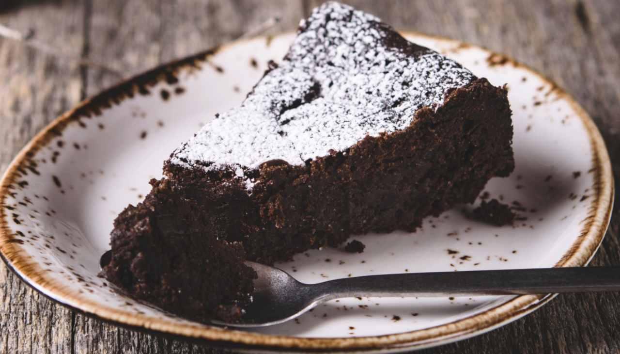 Torta povera al cacao - ricettasprint