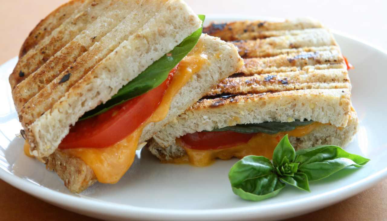 Veggie panini - ricettasprint