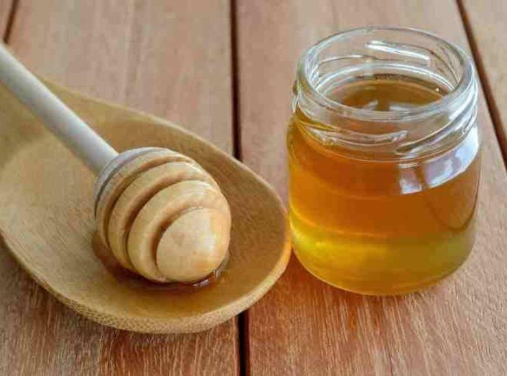 crema al miele montata