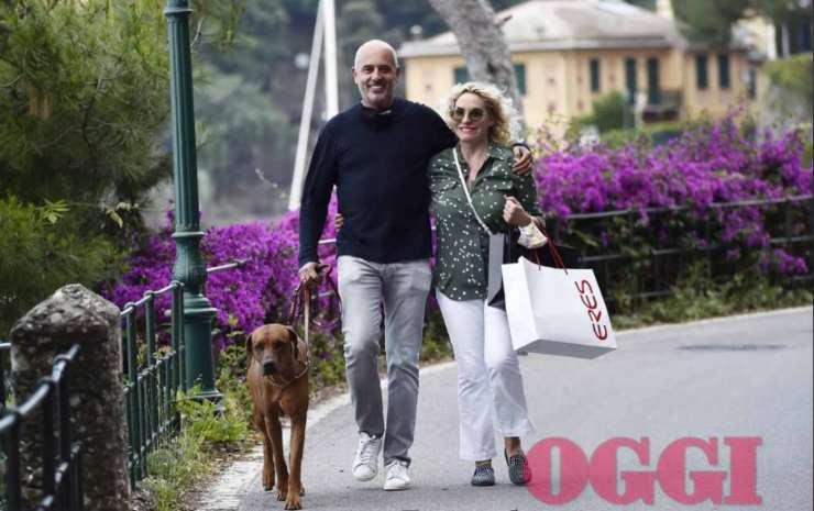 Antonella Clerici foto private shopping ed amore in vacanza ricettasprint