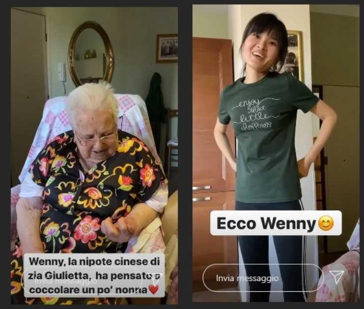 Benedetta Rossi non solo cucina presenta la nipotina cinese FOTO ricettasprint