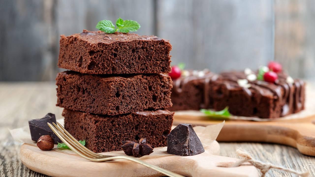 Brownies al cioccolato senza burro