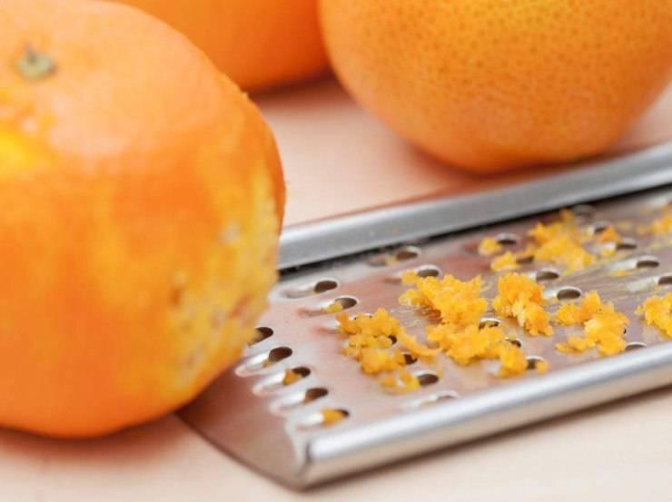 Focaccia dolce all'arancia
