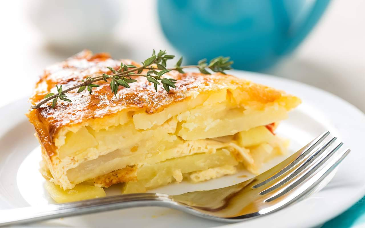 Frittatine di patate e pecorino FOTO ricettasprint