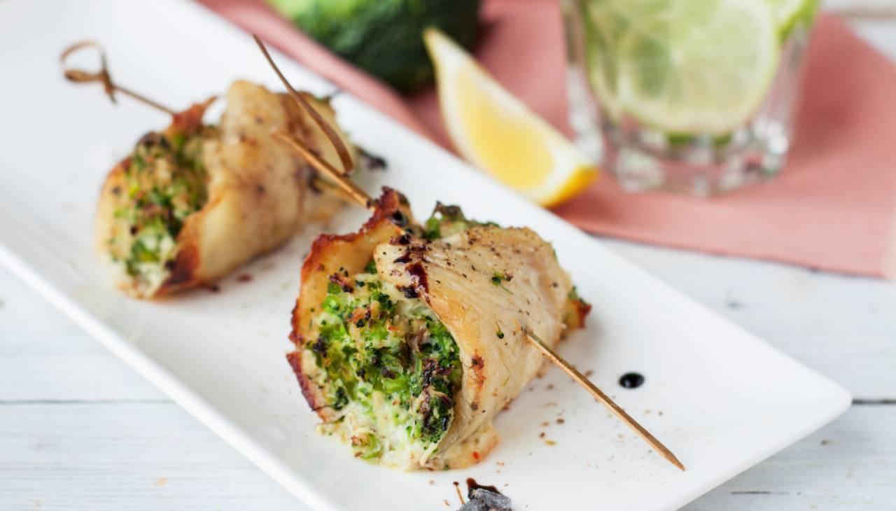 Involtini di pesce ripieni - ricettasprint