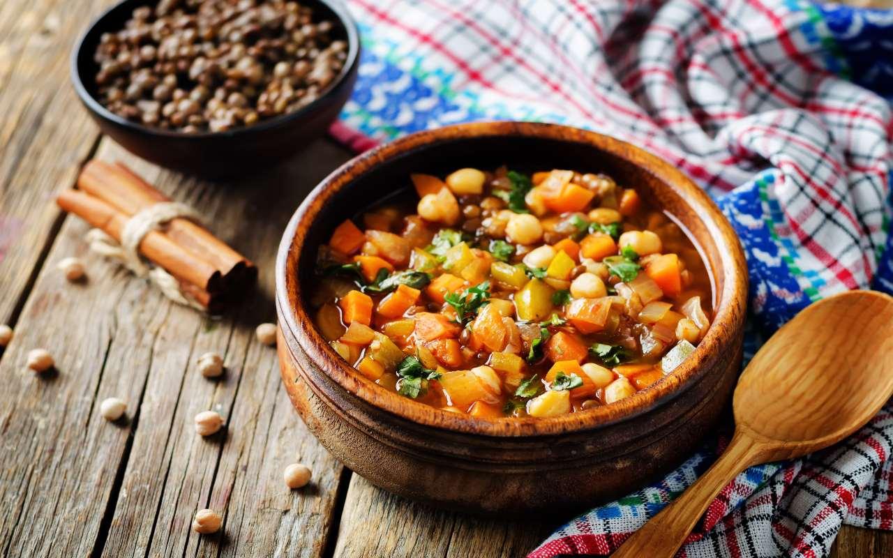 Lenticchie alla marocchina FOTO ricettasprint