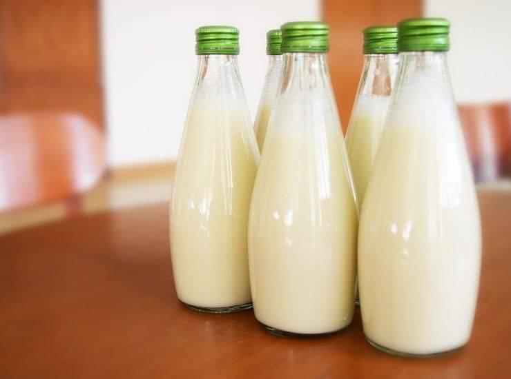 Liquore alla menta con latte - ricettasprint