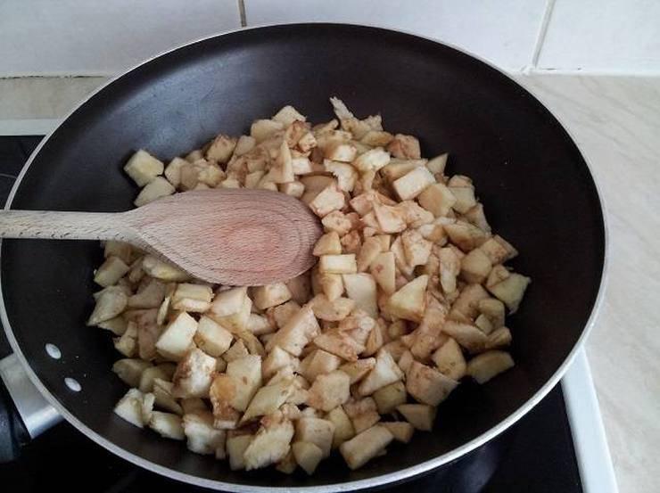 Melanzane ripiene di pasta e mozzarella