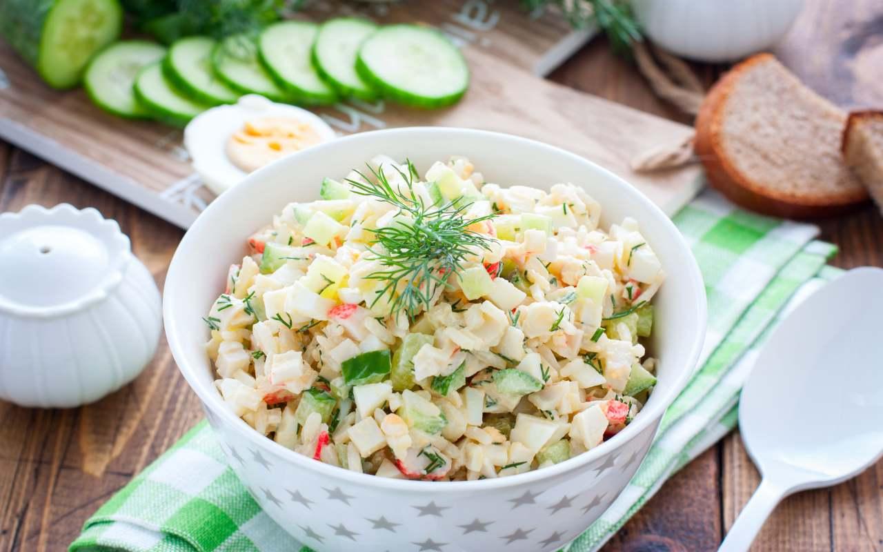 Mix di insalata russa e mare FOTO ricettasprint