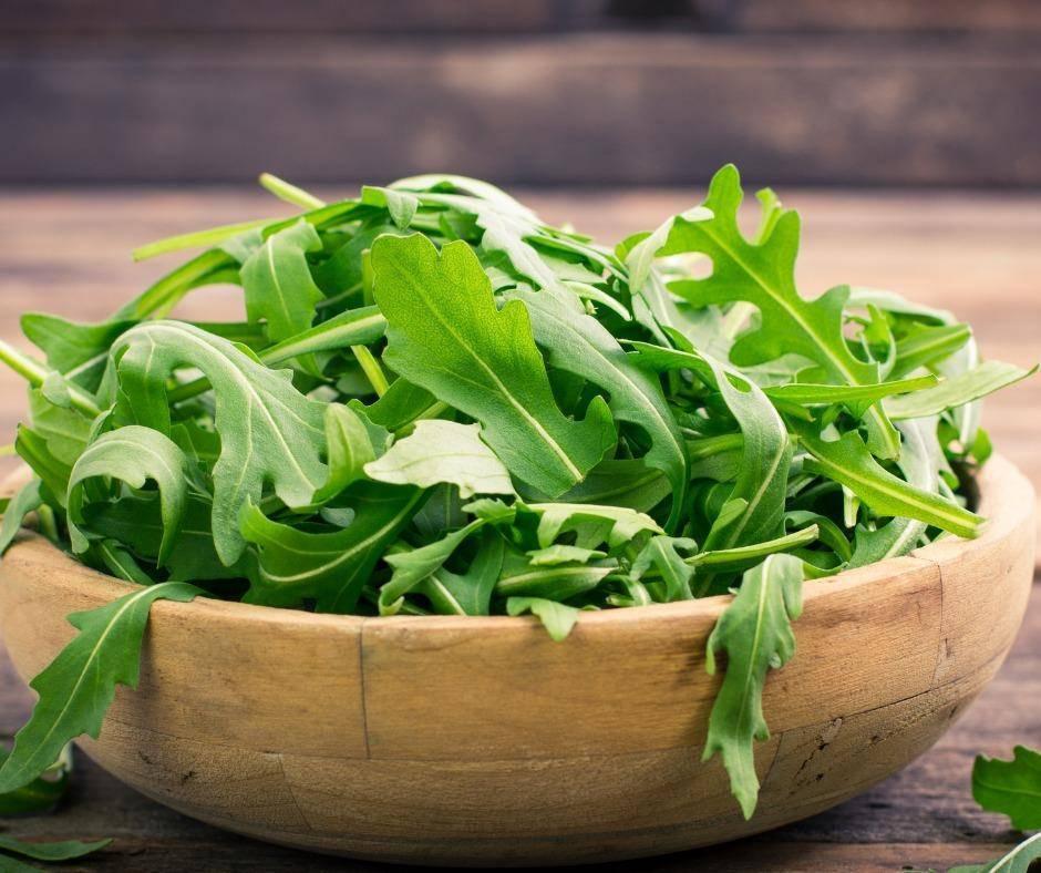 Mix di verdure con rucola e zucchine FOTO ricettasprint