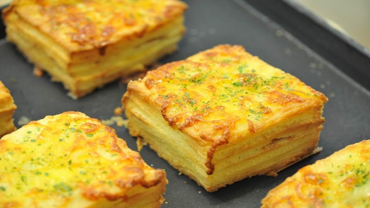 Pizzette di pan carrè