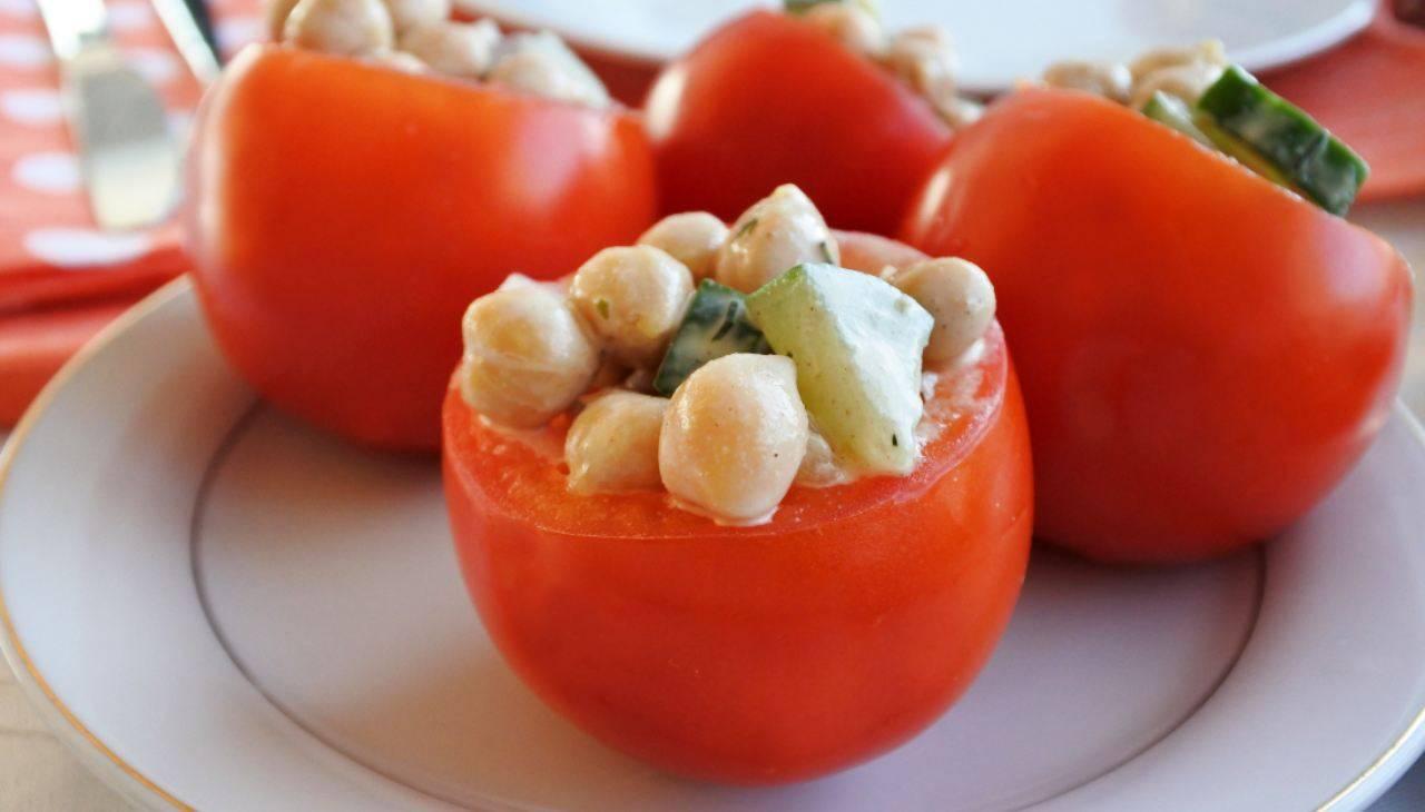 Pomodori ripieni di verdure - ricettasprint
