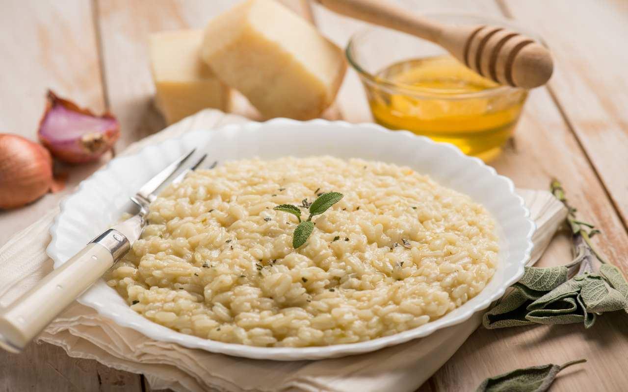 Risotto alla parmigiana FOTO ricettasprint