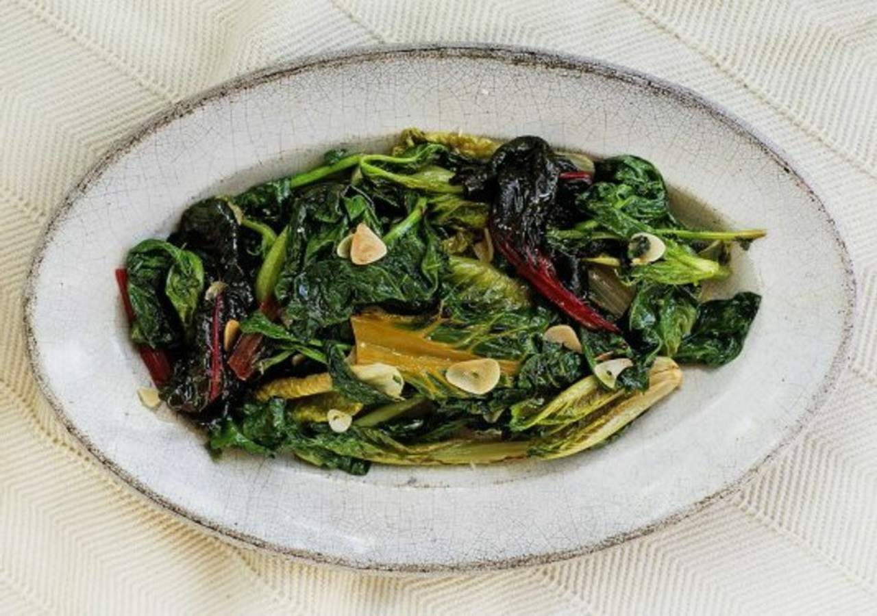 Scarola con le olive FOTO ricettasprint