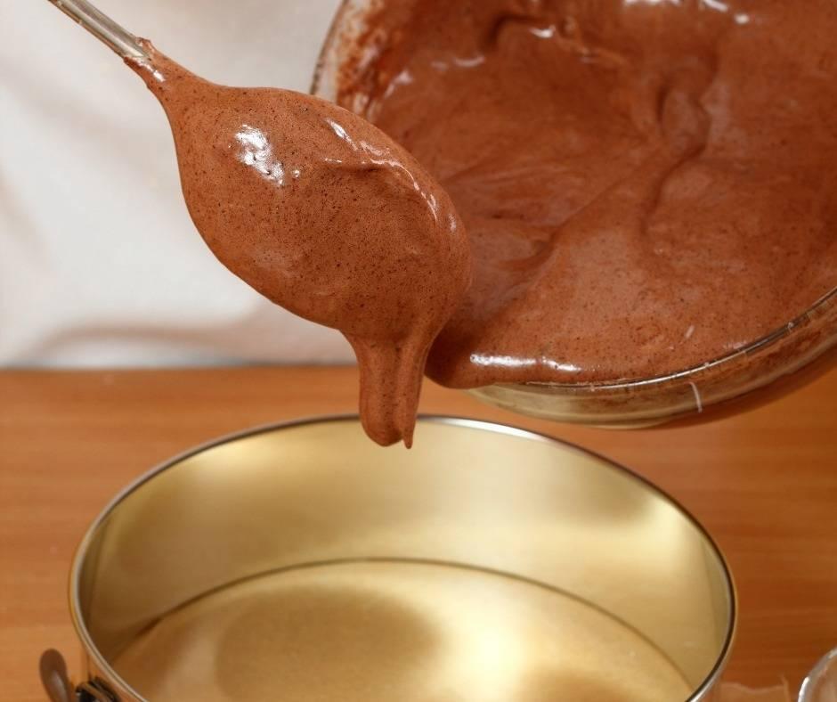Torta al cacao con ganache