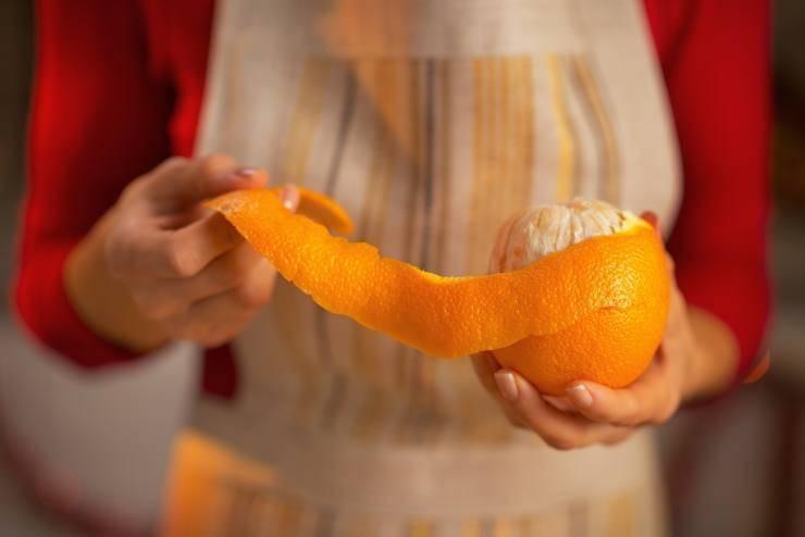 Torta al riso con arancia