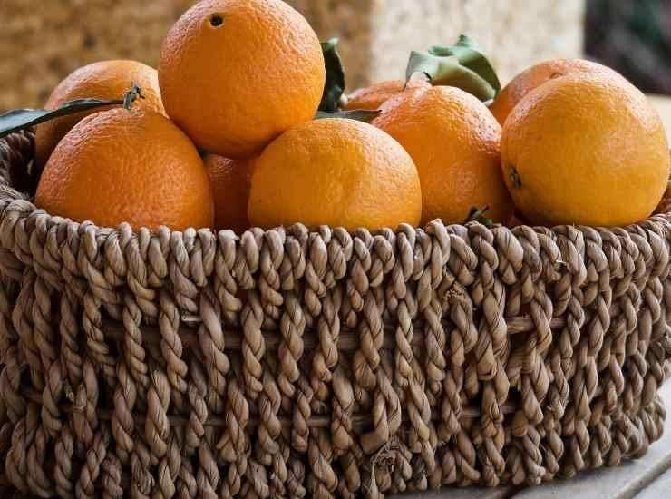 Torta con crema di arancia - ricettasprint