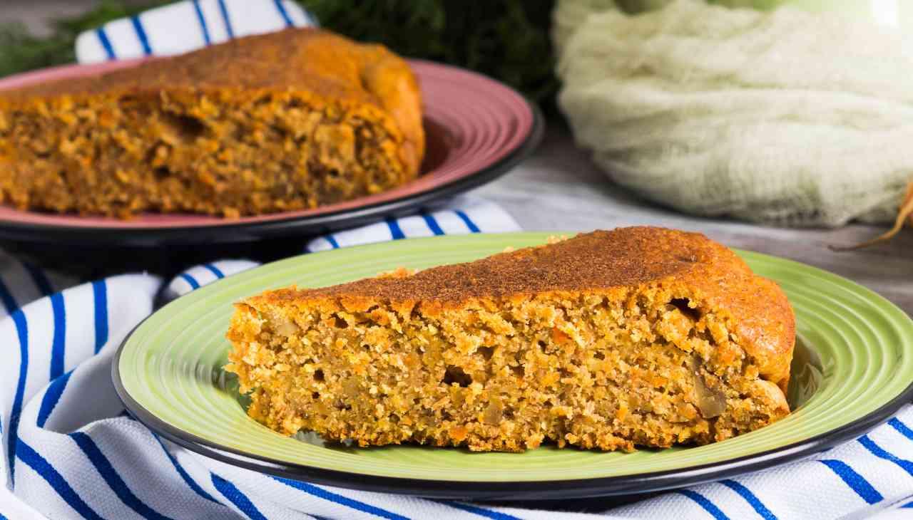 Torta mandorle e carote - ricettasprint