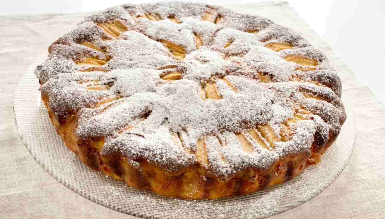 Torta mela uvetta cioccolato - ricettasprint
