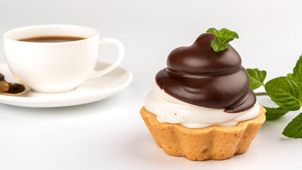 Tortine Dolci al cioccolato fondente senza cottura
