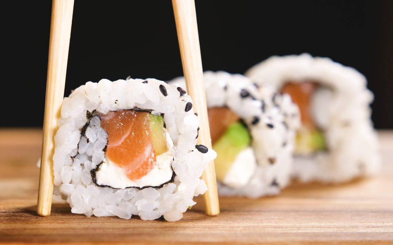 sushi philadelphia e tonno FOTO ricettasprint