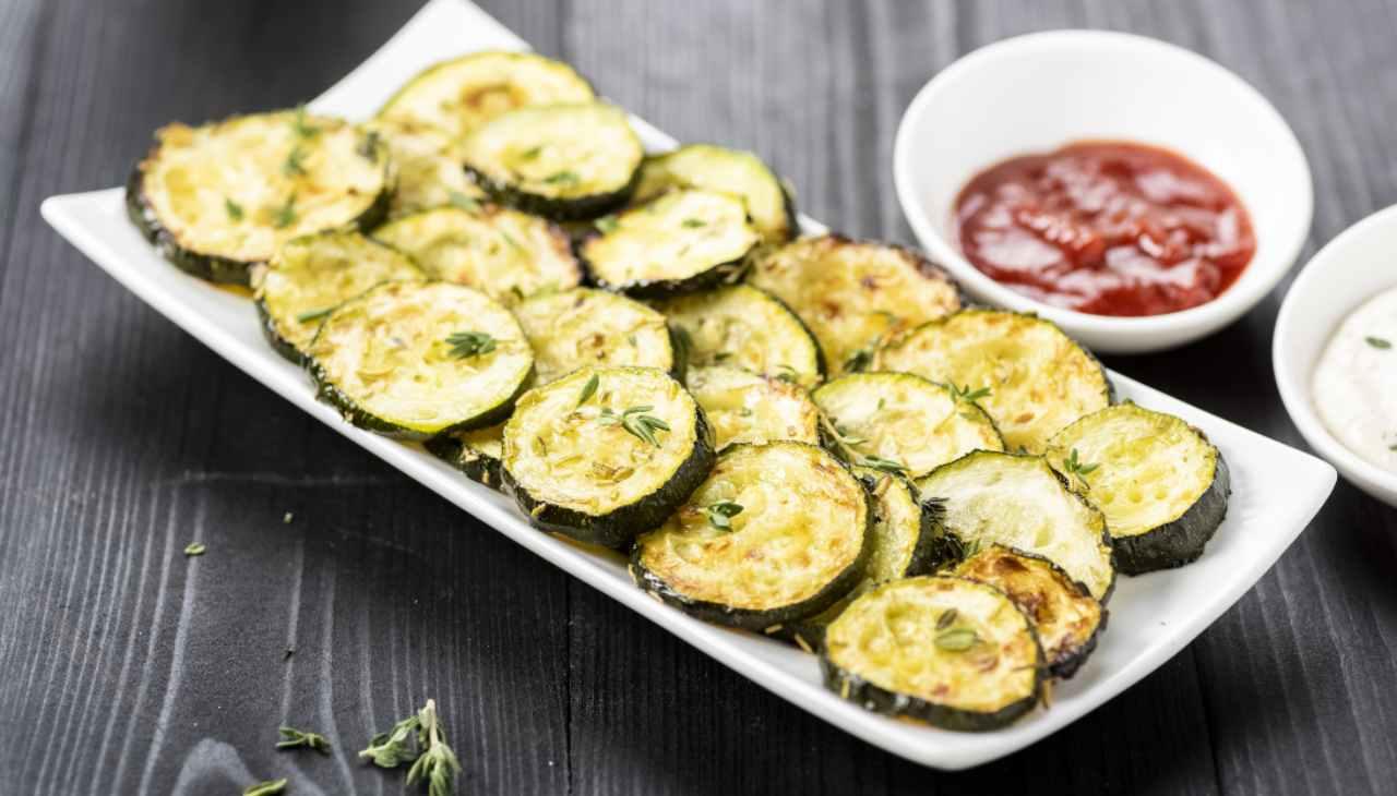 Zucchine con aceto bianco - ricettasprint