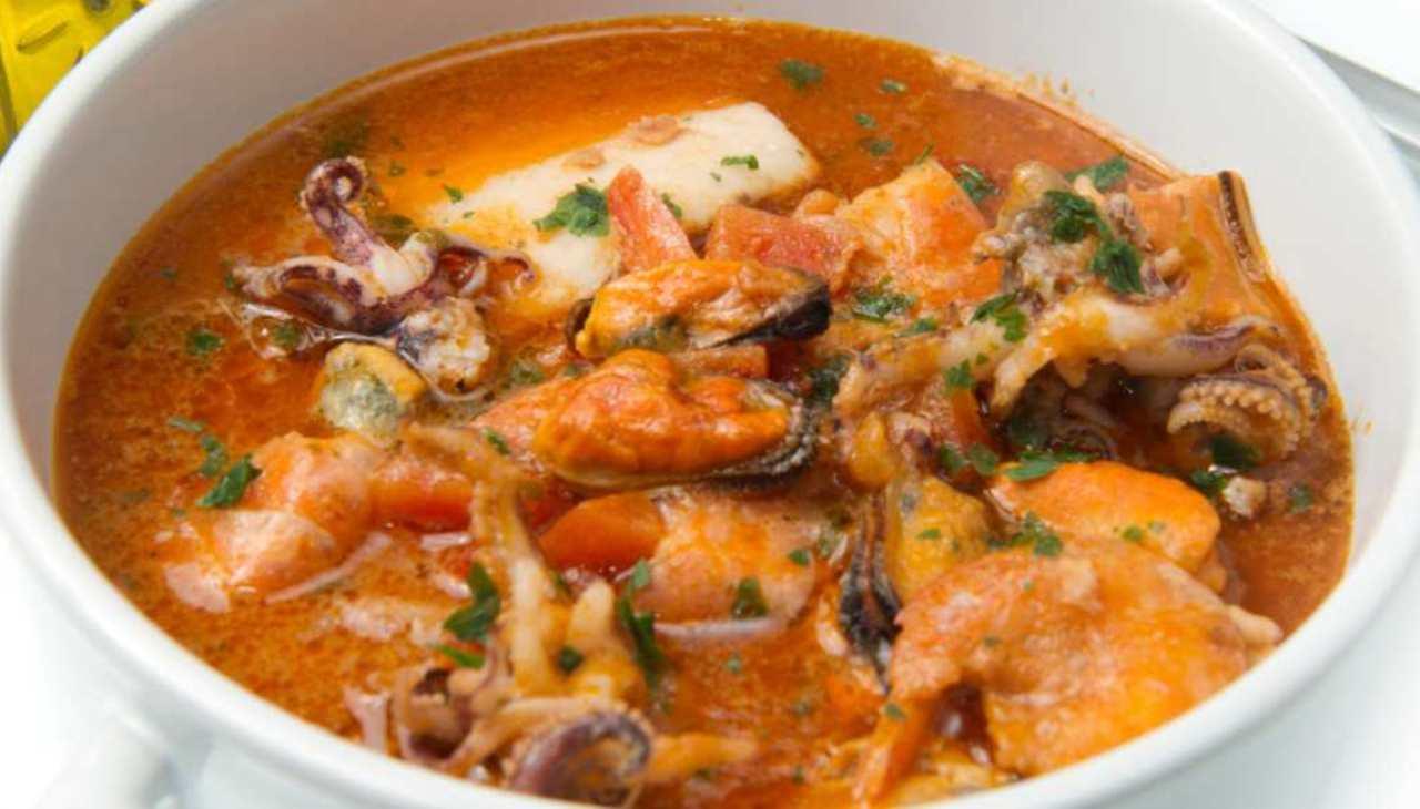 Zuppa cozze polpo paprika - ricettasprint