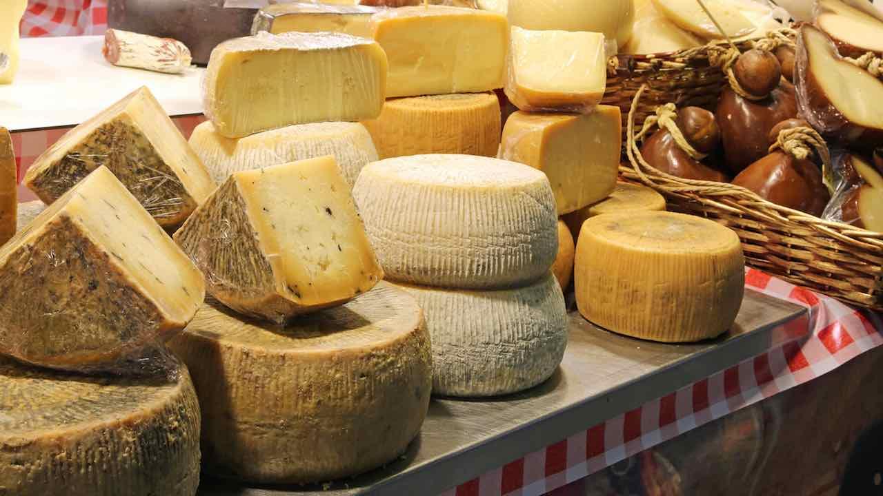 ritiro formaggio