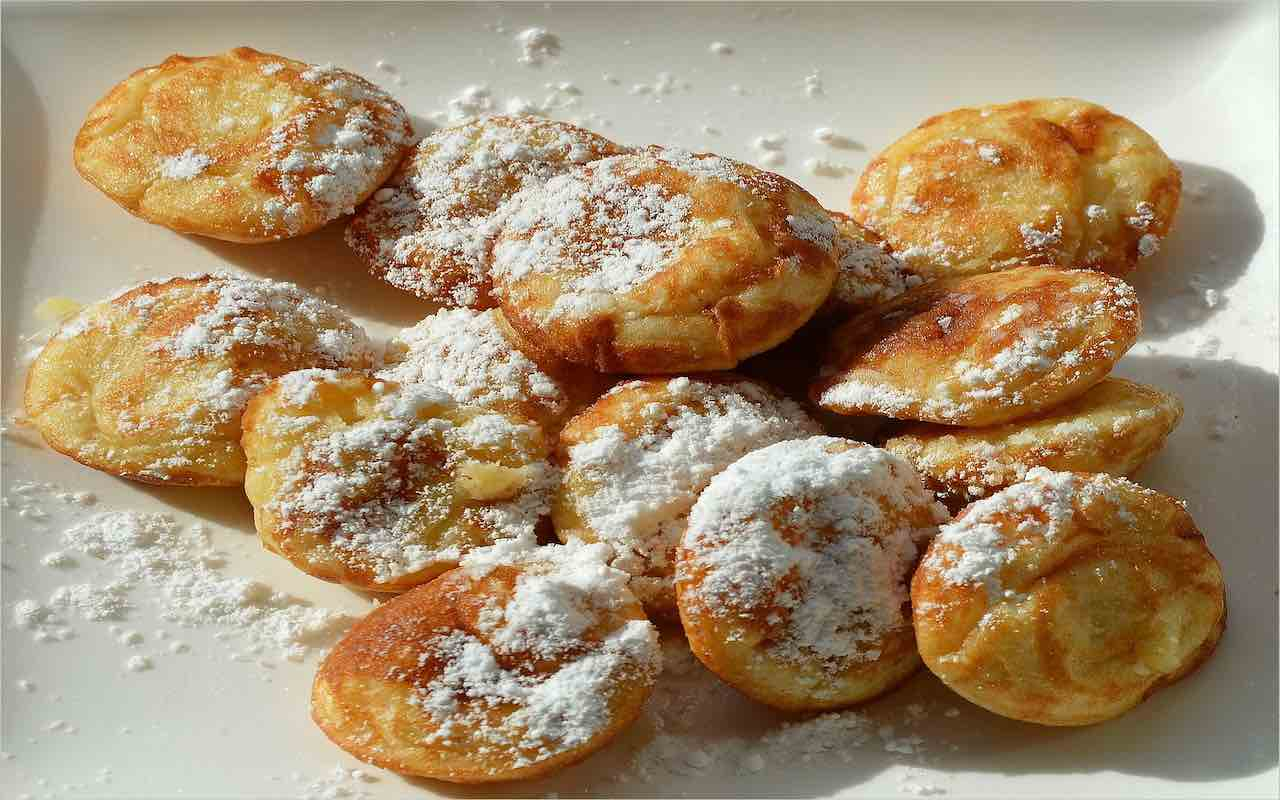 frittelle dolci al forno