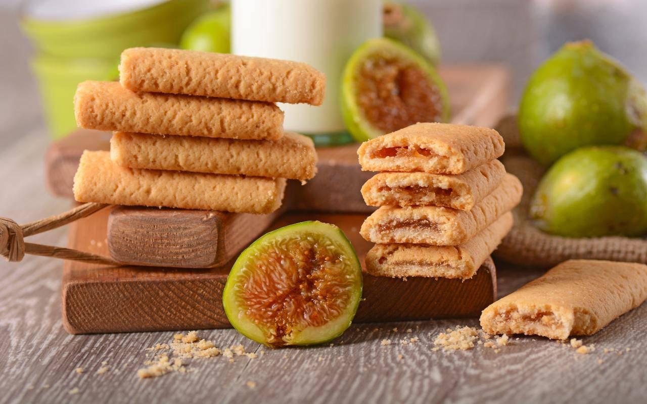 snack dolce ai fichi FOTO ricettasprint