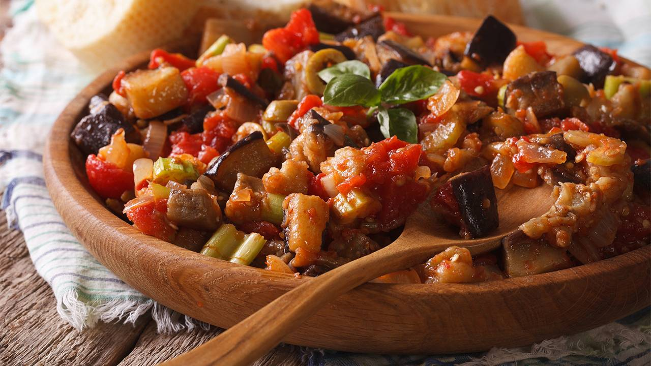 Ricetta siciliana con melanzane