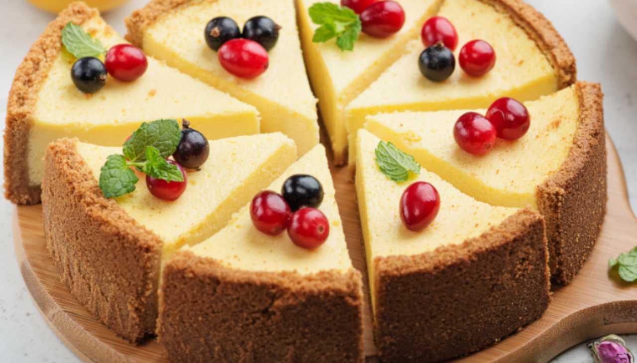 cheesecake dolce freddo