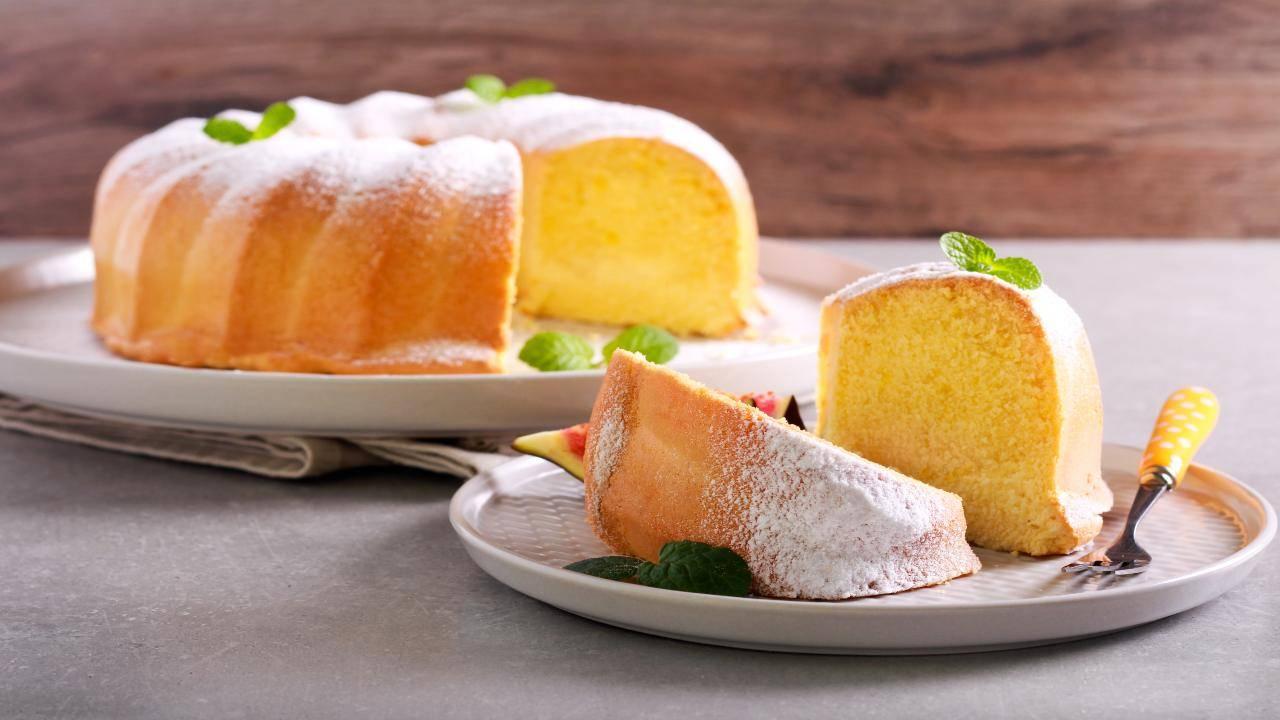 Torta al limone con farina di mandorle
