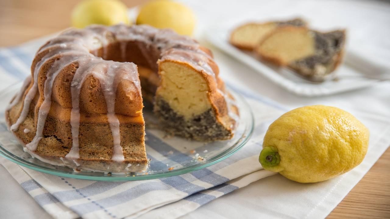 Torta al limone e cacao