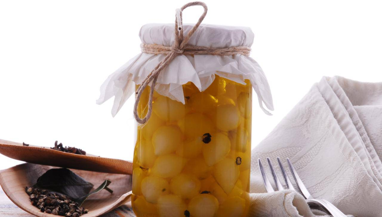 Cipolline sottolio con pepe - ricettasprint