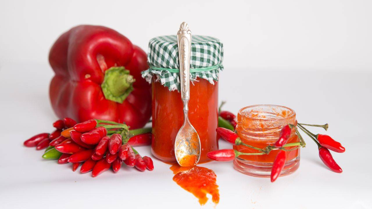 Salsa di peperoni rossi