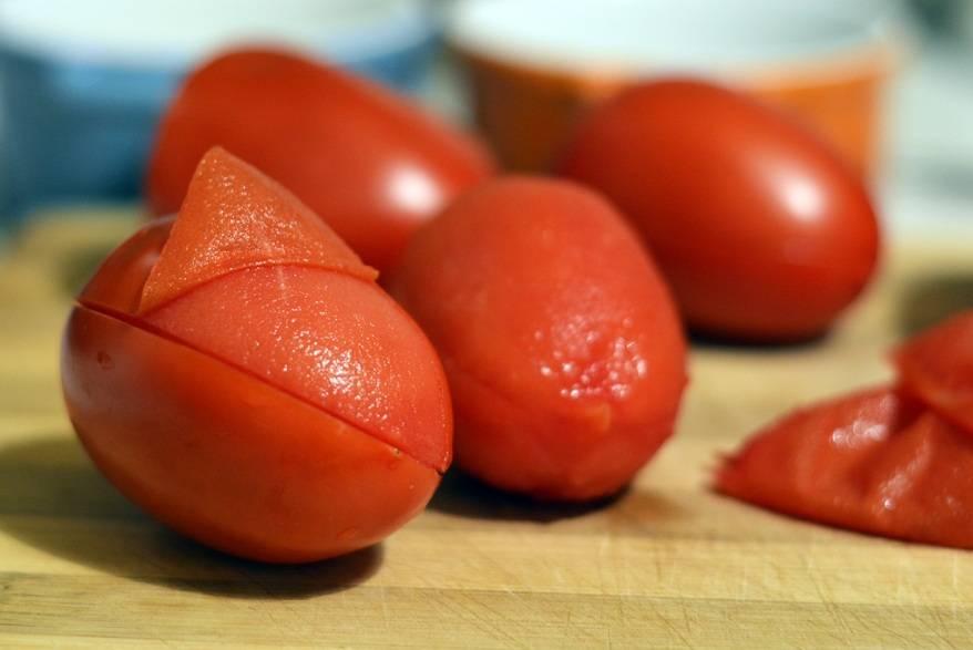 vellutata di pomodori e carote