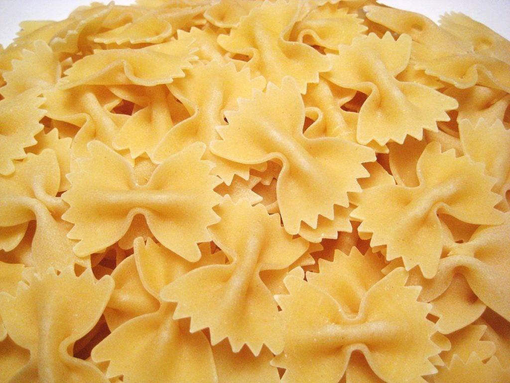 Pasta fredda con gamberi