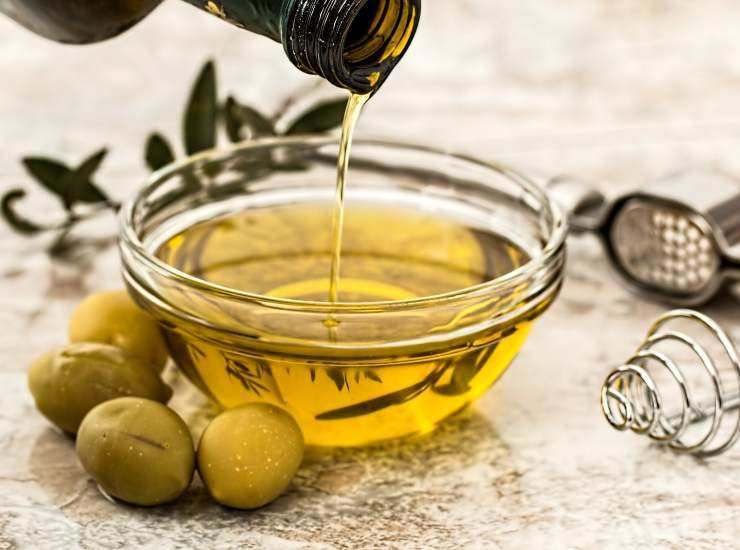 insalata olio extravergine di oliva