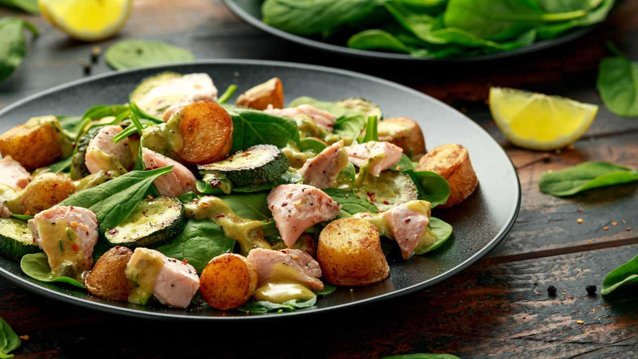 Patate con zucchine