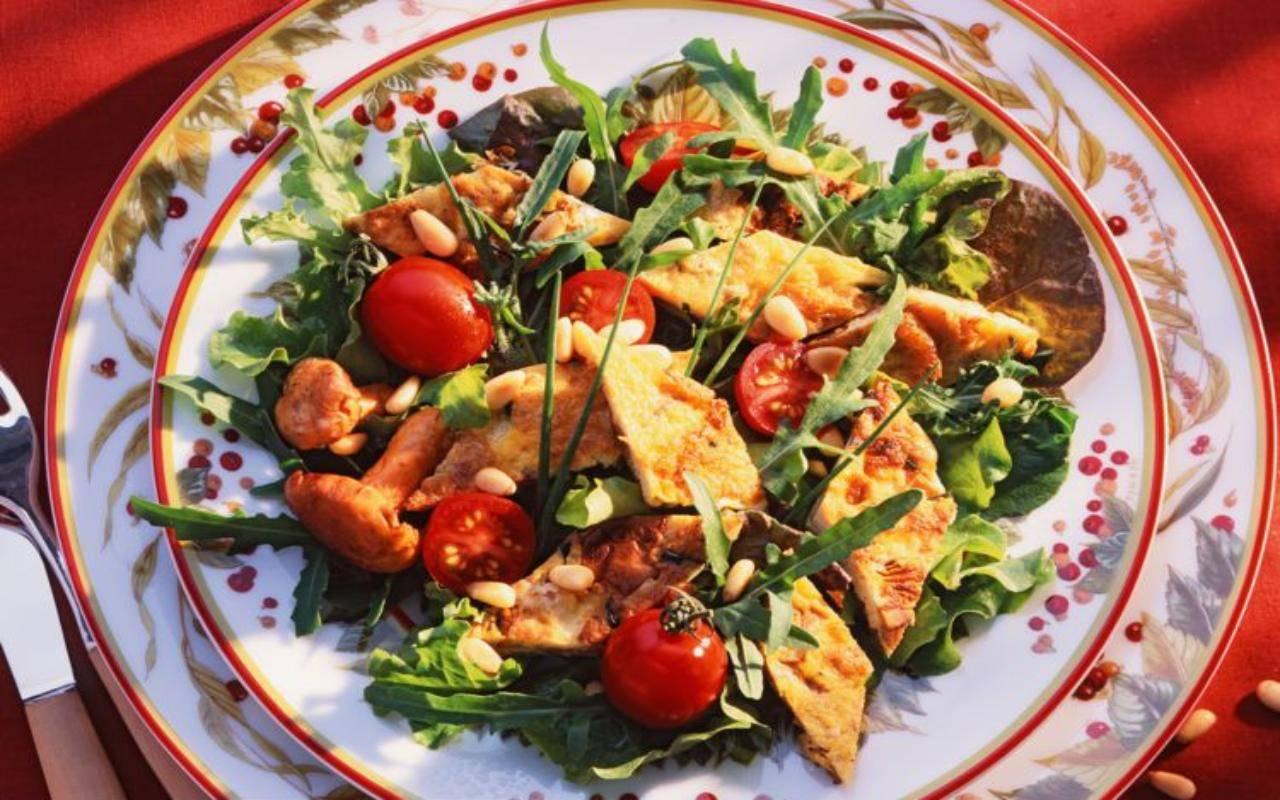 frittata all'insalata FOTO ricettasprint