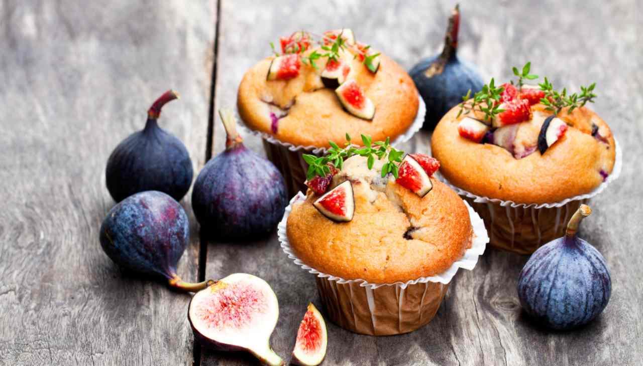 muffin dolcetti frutta